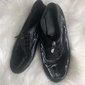 Saint Laurent YSL Verneuil Patent Leather Sneakers